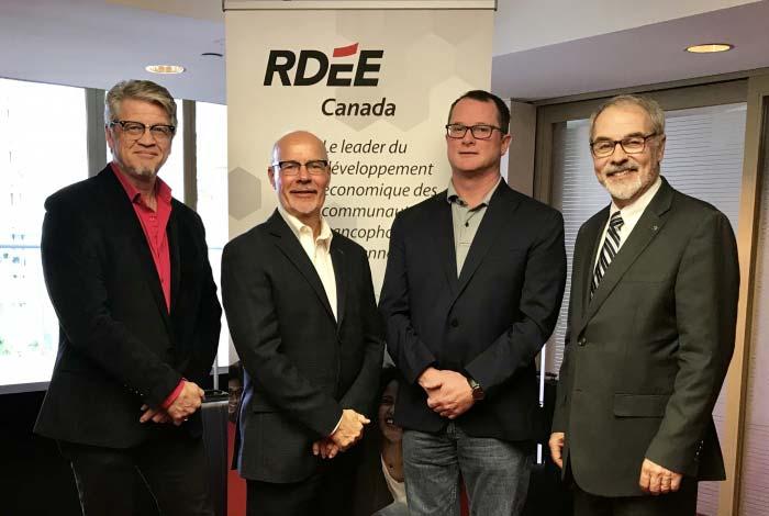 Assemblée générale annuelle du RDÉE Canada – Un nouveau comité exécutif au sein du conseil d'administration est élu