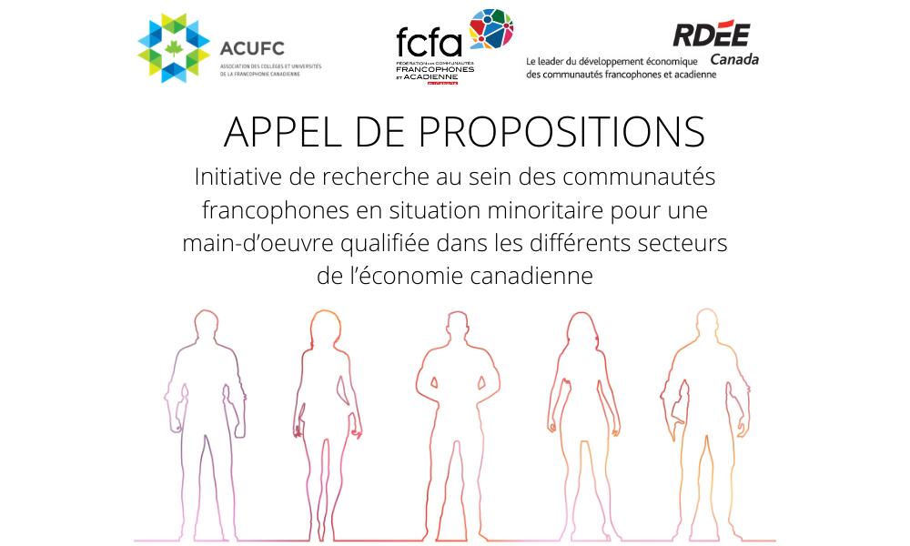 Initiative de recherche au sein des communautés francophones en situation minoritaire pour une main-d'œuvre qualifiée dans les différents secteurs de l'économie canadienne