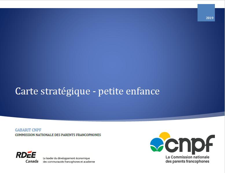Carte stratégique en petite enfance (gabarit CNPF)