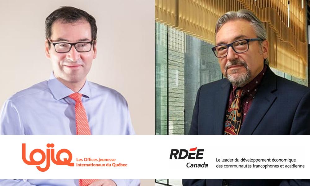 Signature d'une entente de partenariat entre LOJIQ et le RDÉE Canada