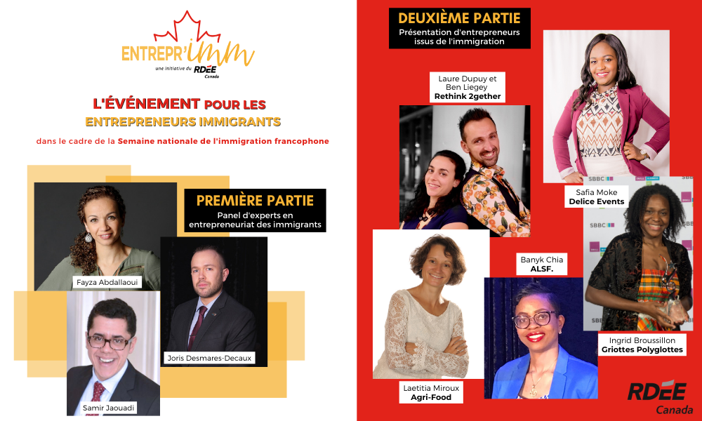 ENTREPR'imm 2020 : l'événement pour les entrepreneurs immigrants