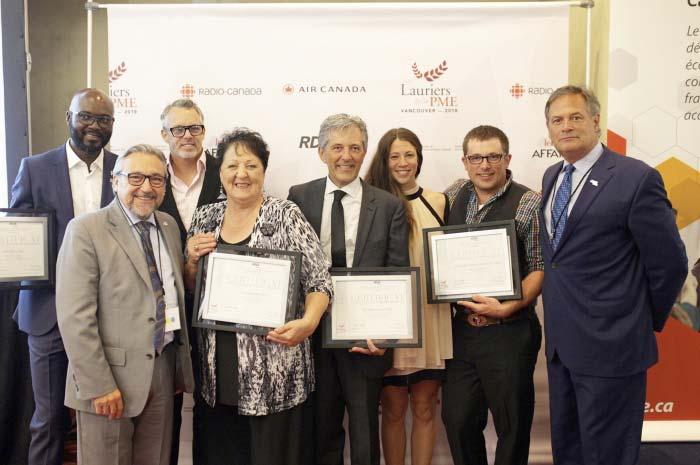 Les Lauriers de la PME 2018 célèbre l'excellence entrepreneuriale francophone!