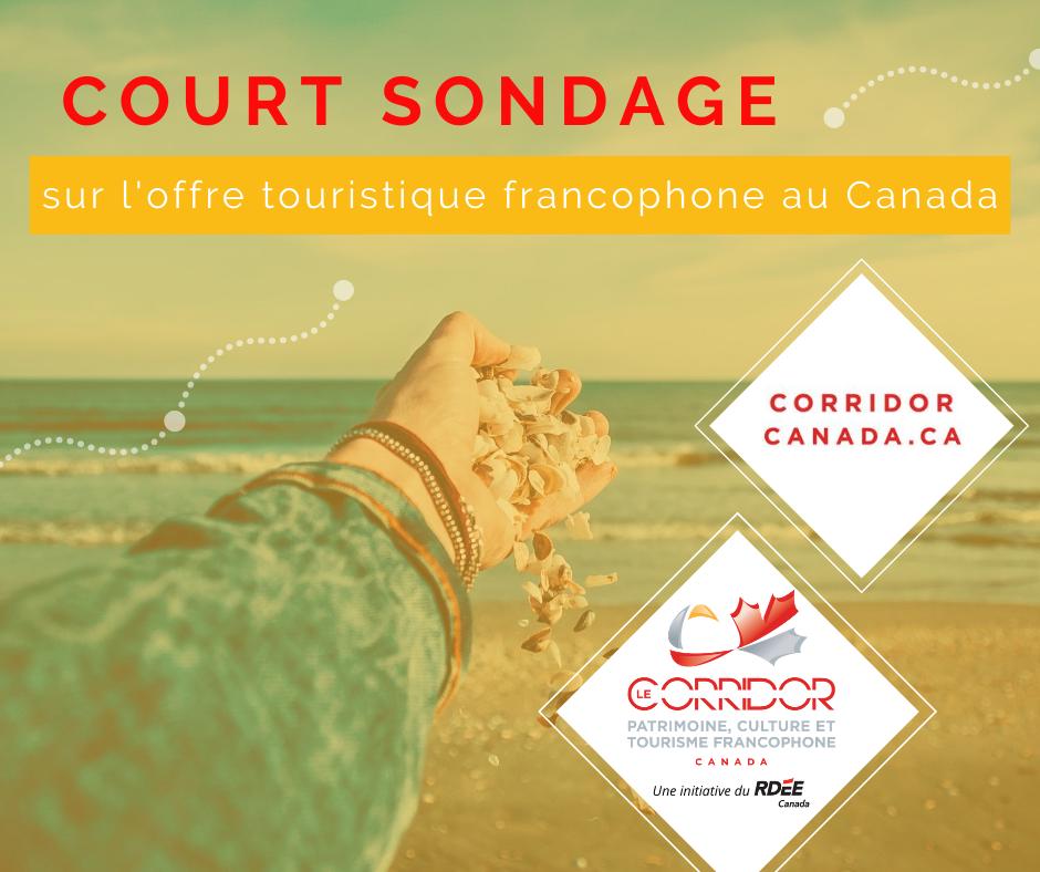 Sondage sur l'offre touristique francophone au Canada